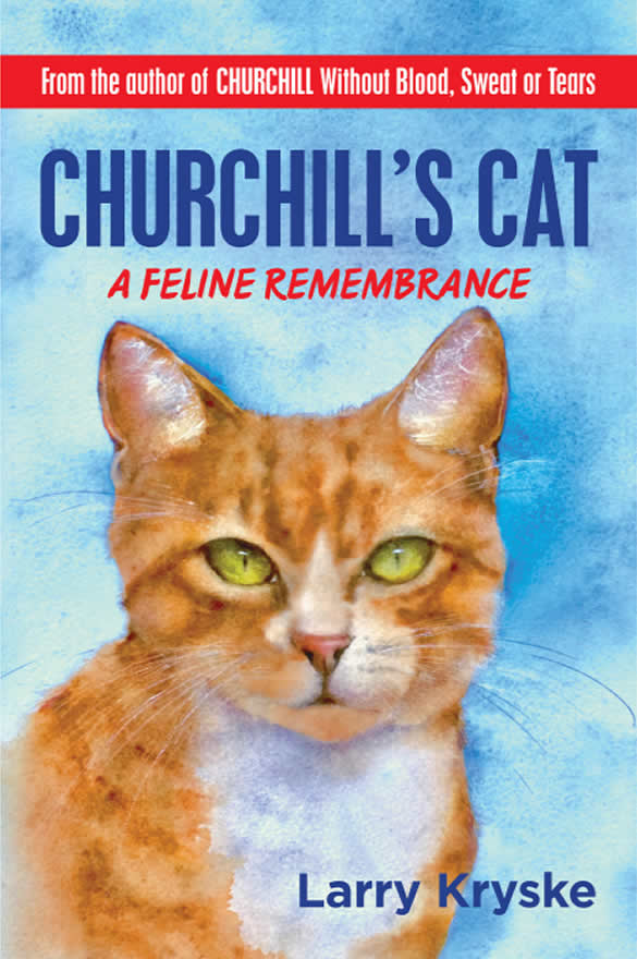 churchill's cat front cover
